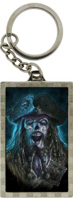 Picture of Captain Grimbeard 3D Keyring (James Ryman)