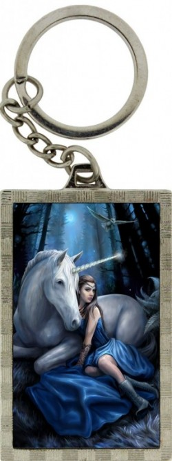 Picture of Blue Moon 3D Keyring (Anne Stokes)