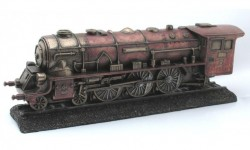 Picture of Steam Train Bronze Figurine 28cm