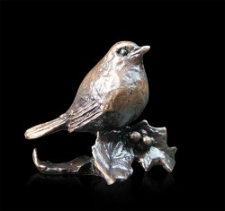 Picture of Robin Bronze Miniature (Butler and Peach)
