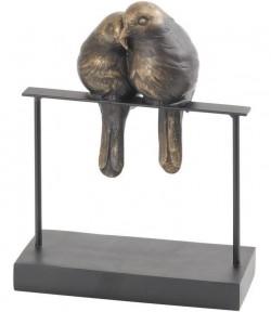 Picture of Lovebirds Sculpture Bronze