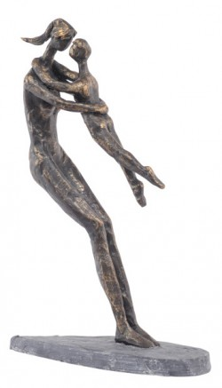 Picture of Mother and Child Bronze Figurine 27 cm