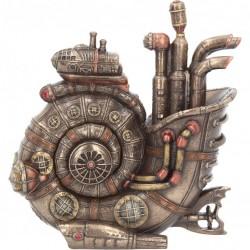 Picture of Steam Ammonite Bronze Figurine with Secret Compartment