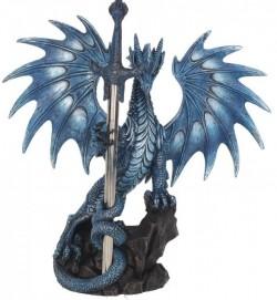Picture of Sea Dragon Figurine Letter Opener Ruth Thompson 23cm