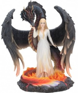Picture of Born of the Flames Dragon Figurine