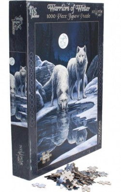 Picture of Warriors of Winter Wolf Jigsaw (Lisa Parker) 1000 pieces