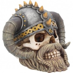 Picture of Erik Viking Skull Ornament 15cm