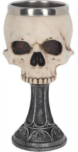 Picture of Skull Chalice 18 cm Anne Stokes