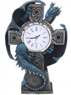 Picture of Draco Figurine Clock (Anne Stokes) 18cm