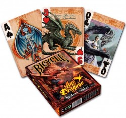 Picture of Anne Stokes AGE OF DRAGONS Playing Cards Deck