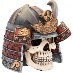 Picture of Samurai Skull Ornament