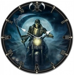 Picture of Hell Rider Wall Clock (James Ryman) 34 cm
