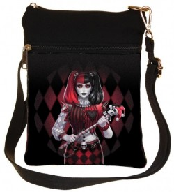 Picture of Dark Jester Gothic Girl Shoulder Bag James Ryman