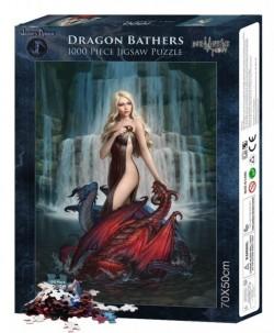 Picture of Dragon Bathers Jigsaw (James Ryman) 1000 pieces