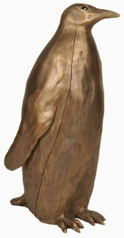 Picture of Emperor Penguin LARGE Bronze Sculpture (Paul Jenkins) 39 cm