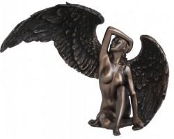 Picture of Female Angel Bronze Figurine