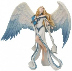 Picture of Light Messenger Angel Figurine (James Ryman) 22cm