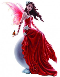 Picture of Crimsonlily by Nene Thomas Fairy Figurine