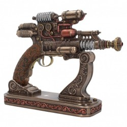 Picture of Steam Compressed Pulse Emitter Gun Figurine with Base