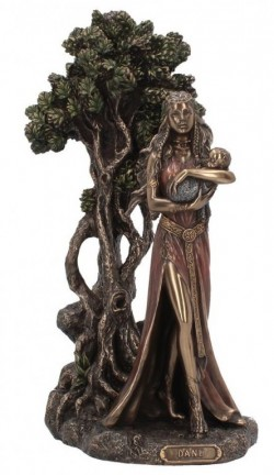 Picture of Danu Mother of the Gods Bronze Figurine 30 cm