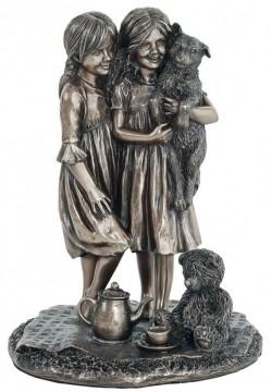 Picture of Friendship Bronze Figurine 21cm