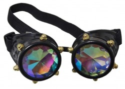 Picture of Crystal Vision Steampunk Goggles Costume Mask
