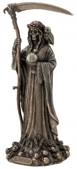 Picture of Santa Muerte Bronze Figurine 29 cm
