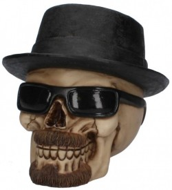 Picture of Badass Skull Ornament 16cm