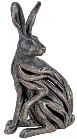 Picture of Alert Hare Bronze Sculpture 38 cm LARGE