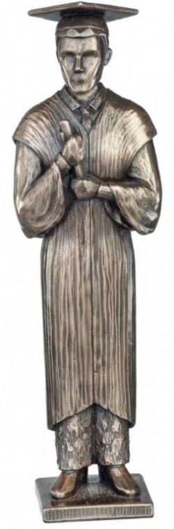 Picture of Graduation Bronze Figurine Male