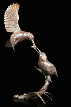 Picture of Kingfisher Waters Edge Figurine (Limited Edition) Michael Simpson 25cm