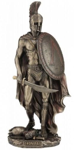 Picture of Leonidas King of Sparta Bronze Figurine 26cm