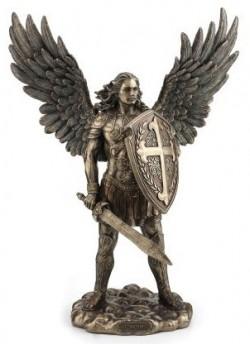 Picture of Archangel Michael Bronze Figurine 36 cm