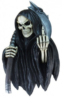 Picture of Final Insult Reaper Wall Plaque 41 cm LARGE