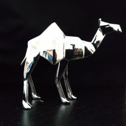 Picture of Camel Standing Hallmarked Sterling Silver Miniature NOMI Design
