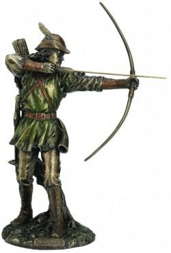 Picture of Robin Hood Bronze Figurine 30 cm