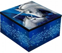 Picture of Sacred Love Unicorn Mirror Box Lisa Parker