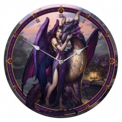 Picture of Dragon Sanctuary Wall Clock (James Ryman) 34 cm