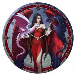 Picture of Dragon Mistress Wall Clock (James Ryman) 34 cm