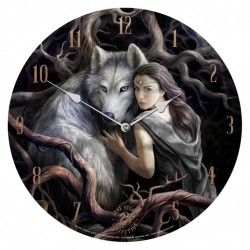 Picture of Soul Bond Clock 34 cm (Anne Stokes)