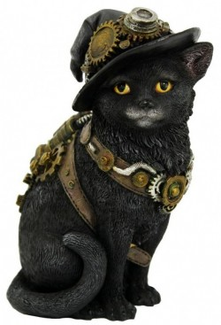 Picture of Steampunk Kitty Figurine
