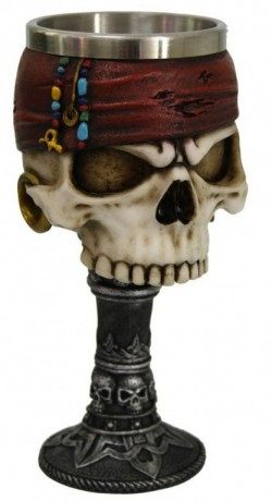 Picture of Dead Man Pirate Goblet