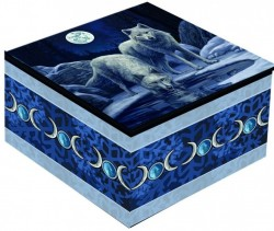 Picture of Warriors of Winter Wolf Mirror Box (Lisa Parker)