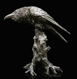 Picture of Raven Designer Sculpture 22 cm Paul Szeiler