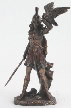 Picture of Athena Bronze Figurine 20cm