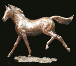 Picture of Grace Solid Bronze Horse Figurine (Limited Edition) Michael Simpson