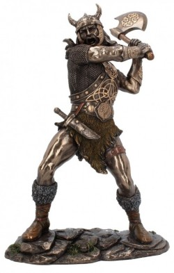 Picture of Berserker Bronze Statue 28 cm