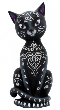 Picture of Witchcraft Cat Figurine 26 cm