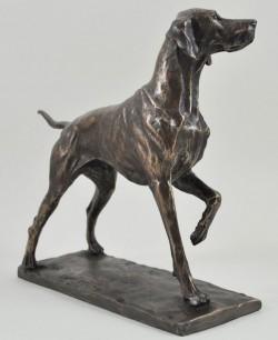 Picture of Pointer Bronze Dog Figurine (David Geenty) 24 cm