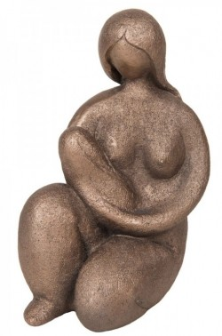 Picture of Mother and Baby Bronze Figurine Adrian Tinsley 19 cm